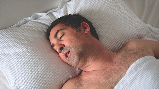 Dormire bene senza apnee notturne
