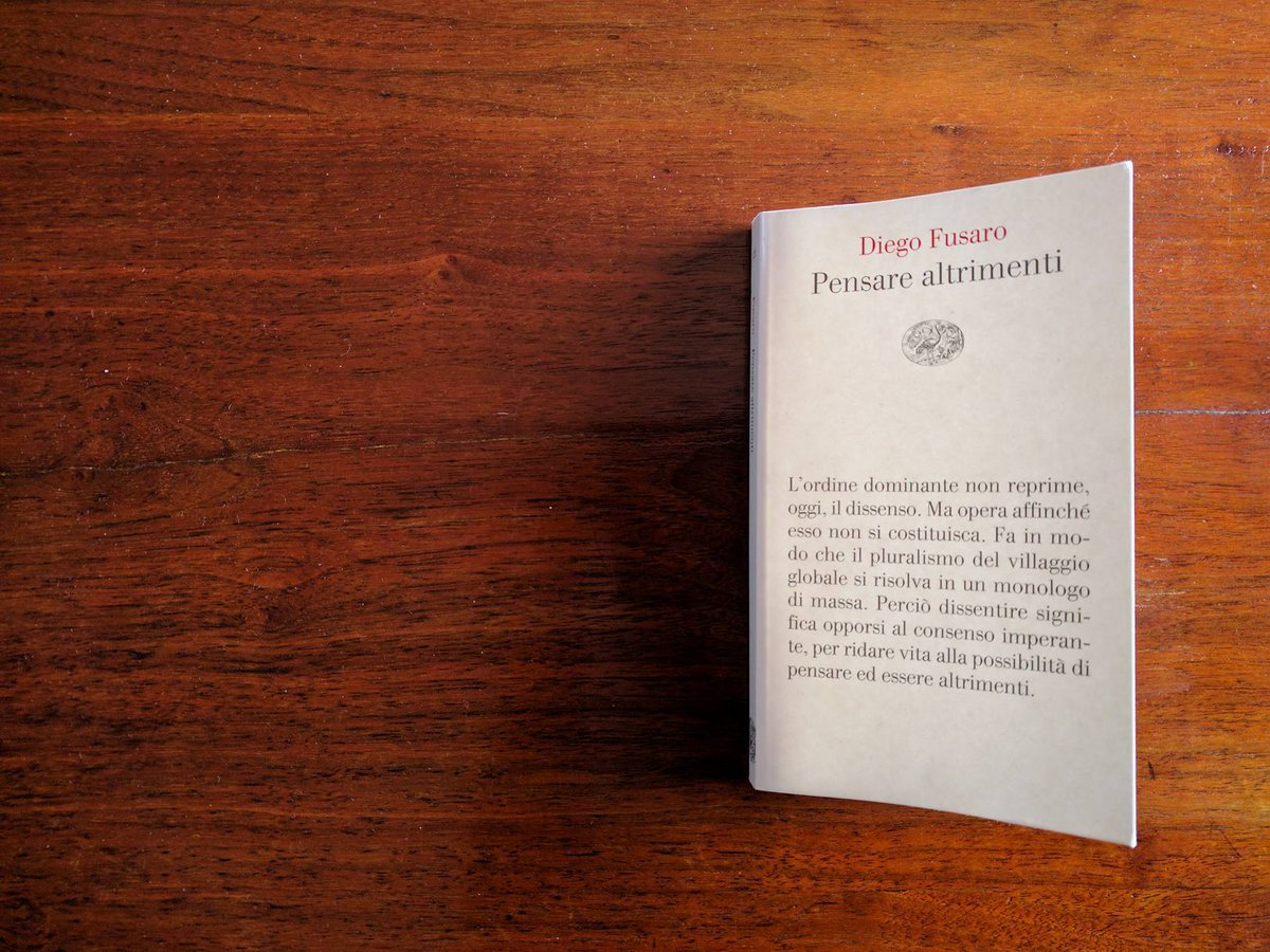 Intervista esclusiva a Diego Fusaro